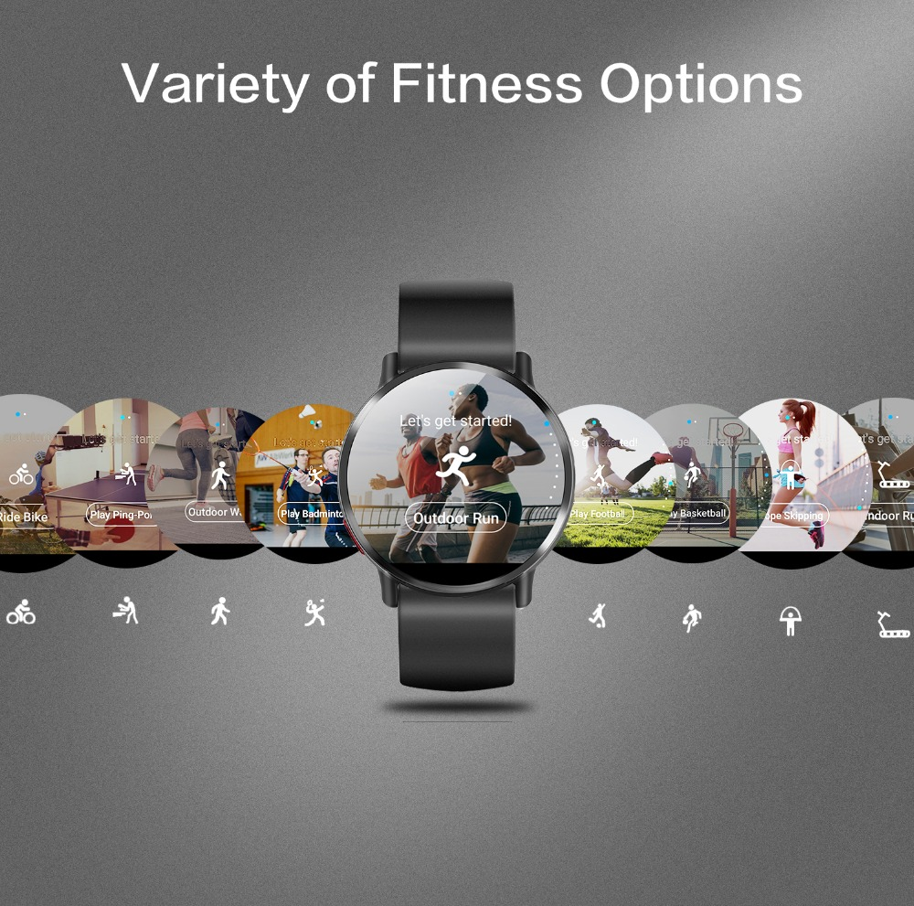 8MP Camera Waterproof Sport GPS Watch Smartwatch 5