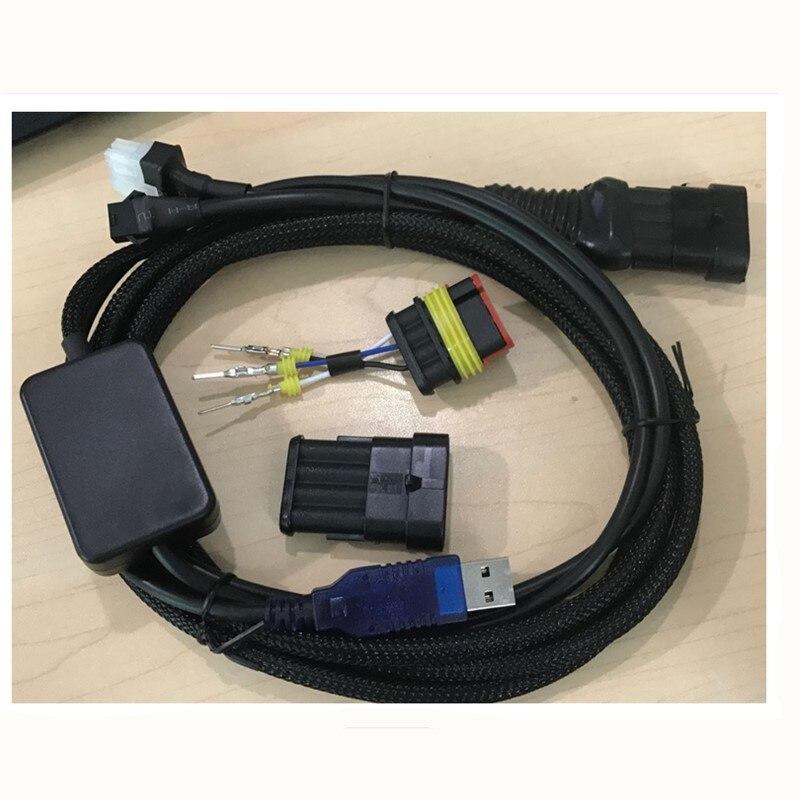 5pcs/lot LPG CNG Autogas ECU Interface Cable for AC AEB ECU Connectors tech 2 scanner for sale
