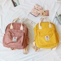 Южная Корея прекрасный ins мягкая сумка женский студенческий японский рюкзак в стиле Харадзюку маленький свежий ulzzang фиолетовый рюкзак