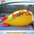 10 m largo dirigible inflable para la publicidad