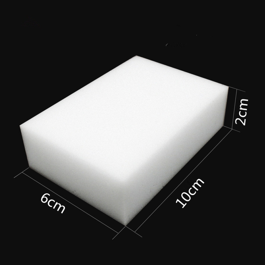 Image 3 - 10pcs Multi funtional White Magic Sponge Eraser Melamine Cleaner for Kitchen Dish Bathroom Cleaning Tools Nano Sponges 10*6*2cm-in Sponges & Scouring Pads from Home & Garden