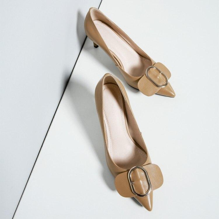 {zorssar} Noir De Zapatos Talons D'affaires Travail Femme Chaussures Femmes Sexy Mariage Mujer apricot Mode Pompes Bout Pointu Hauts kiPOZuTX