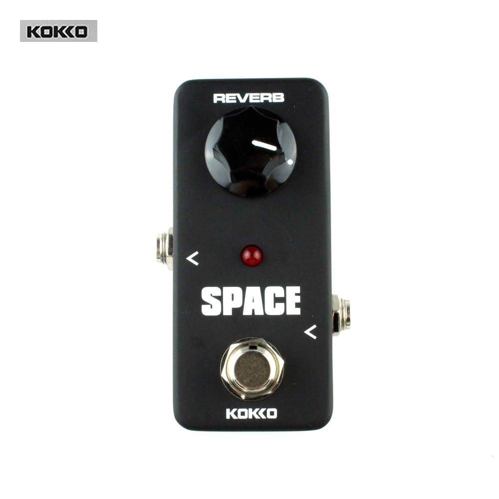 Guitar Parts & Accessories KOKKO FRB2 SPACE Full Reverb Effects Electric Reverb Pedal Guitar effect pedal free shipping black acoustic guitar electric guitar feet accessories guitar foot pedal guitar parts