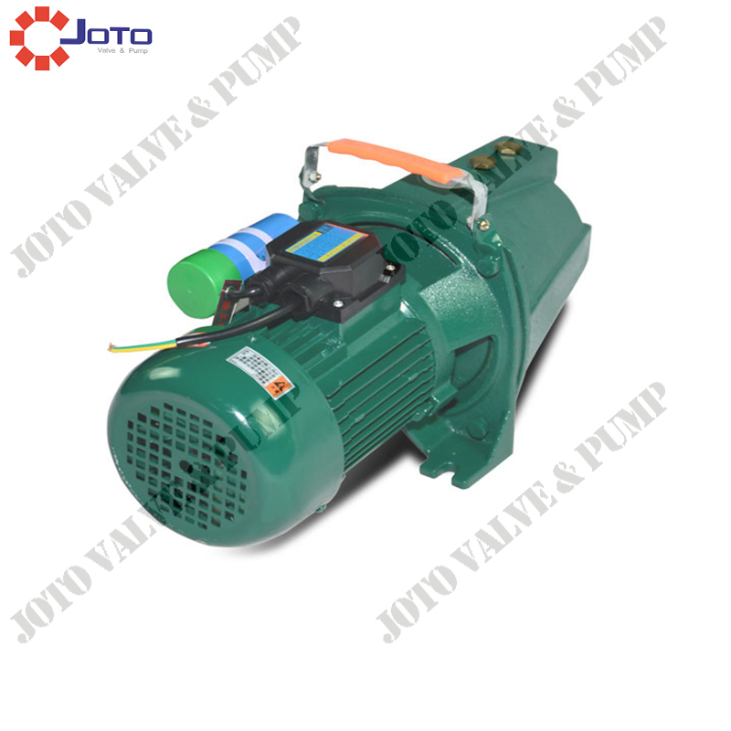 750w 220v 50hz JET-100 Self-Priming Jet Pump for Water 0 75kw self priming water pump for high rise wells in the river lake 220v household jet garden pump 4 5m3 h big capacity