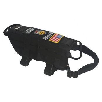 Tactical Police K9 Vest Harness 1