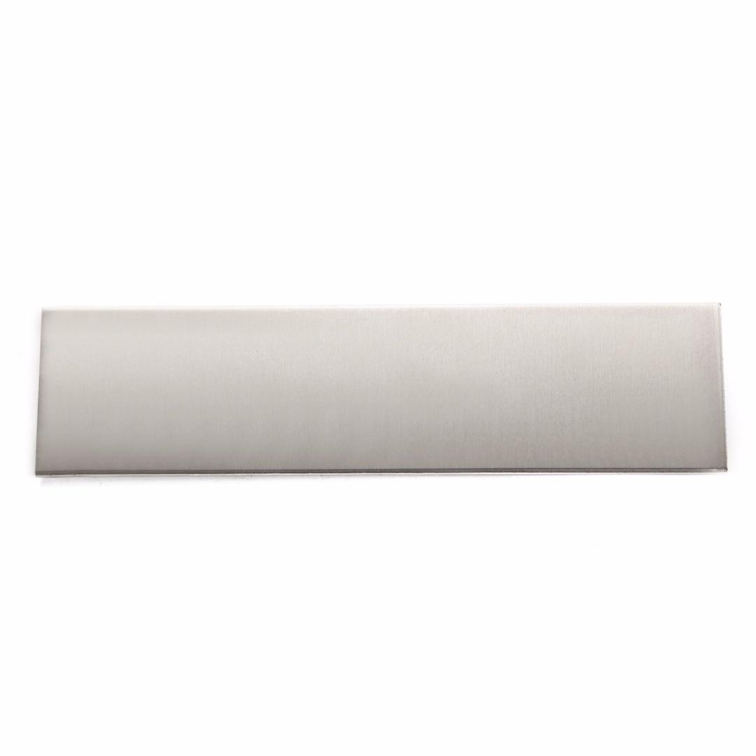 1Pcs 6061 Aluminum Flat Bar Flat Plate Sheet 3mm Thick Cut Mill Stock 200x50x3mm For DIY Machinery Parts