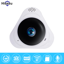 HD 960P 3D VR wifi FishEye IP camera 360 degree Full View Mini CCTV Camera 1.3MP Network Home Security Wi-Fi Camera Panoramic IR