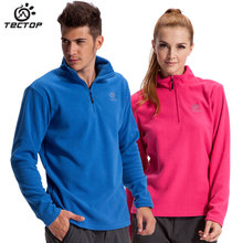 TECTOP Outdoor Fleece Jackets For Men and Women Unisex Thicker Coat Softshell Fleece Jacket Liner Outdoor Jacket Free shipping