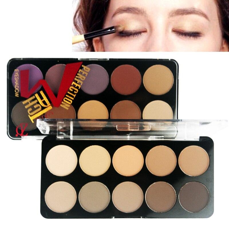 2019 ZD 6 Earth Color Makeup Eye Shadow Palette Smoky