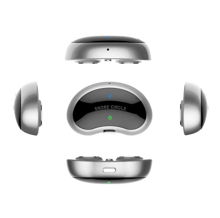 MINI Smart anti snore Device Sleep Apnea Anti Snoring Sleeping Aid with APP  and sleep monitor android or IOS replace CPAP