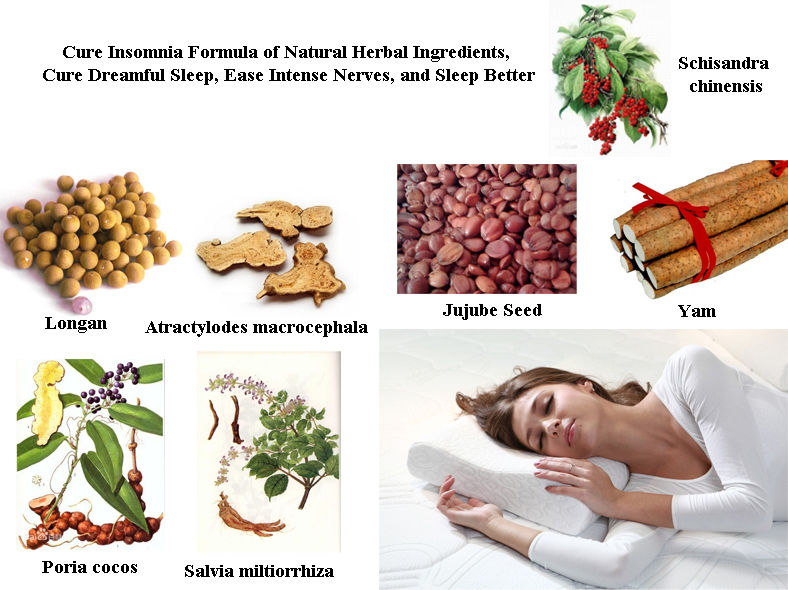 Formula To Cure Insomnia Made Of All Natural Herbal Ingredients Improve Sleep Quality