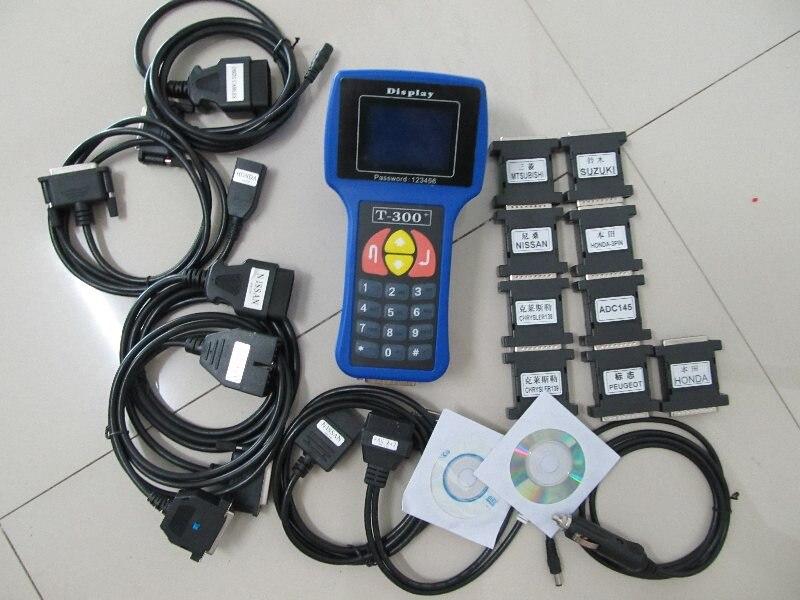 t300 key programmer newest v16.8 T 300 T CODE English or Spanish For Multi Brand Cars T 300 key programming machine