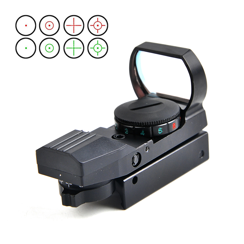 11/20mm Rail Riflescope Hunting Optics Holographic Red Dot Sight Reflex 4 Reticle Tactical Scope Hunting Accessories