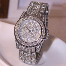 De lujo de Las Mujeres relojes del rhinestone de cerámica de cristal de Cuarzo relojes de Señora Reloj de Vestir de Moda Popular de Alta Qulity Caliente Maketing M3