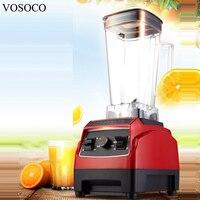 VOSOCO Blender Mixing Machine Ice Crusher Sand Ice Machine Stir Milkshake Soybean Milk Juicer 2L 1500W