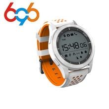 F3 Luminosa Relógio Inteligente Medidor de Altitude Termômetro Pedômetro Smartwatch À Prova D' Água IP68 para IOS Android