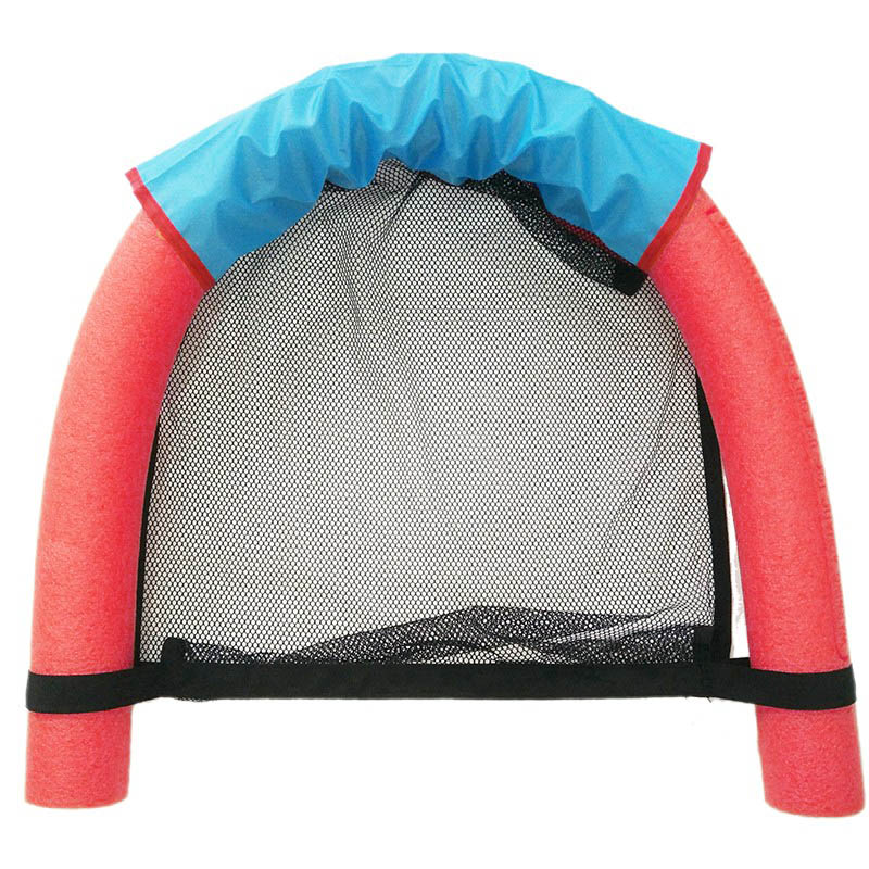 6.0x150CM 어린이 키즈 소프트 누들 풀 메쉬 워터 플로팅 의자 수영 좌석