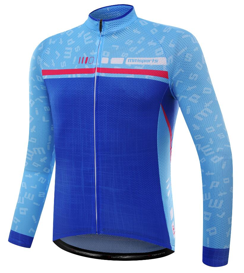 MTSPS 2018 Pro Team Cycling Jersey Long Sleeve Women Mtb Bicycle Clothing Men Ciclismo Maillot Mountain Wicking Bike Jersey