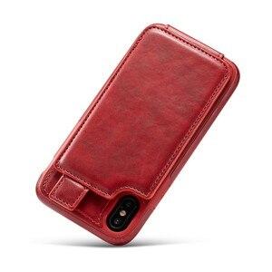 Image 2 - 15 шт. мягкий чехол из ТПУ и искусственной кожи для карт для iPhone X, бумажник, слот для кредитных карт, задняя крышка для iPhone 10 2018, противоударные чехлы для телефонов