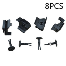 Black Replacement Accessory Lot 53879-58010 5387958010 Clip Kit 4774958010 Pack For Toyota Lexus Fender & Bumper