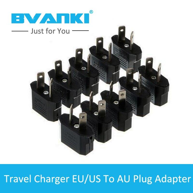 Bvanki10Pcs/Lot Free Universal Travel Adapter Converter Electrical Plug Socket US UK EU to AU Multipurpose Plug Travel Adapter