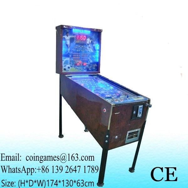 5 Balls, Amusement Equipment Coin Operated Arcade Games Pinball Machine