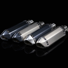 Universal Motorcycle Exhaust Modified Muffler Pipe 36-51mm GY6 Slip-on Exhaust For Akrapovic Muffle Escape Moveable DB Killer herdmar набор столовых приборов sirius 24 пр на 6 персон 35х26х4 см 183302401172000000 herdmar