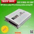 Caja de 2 caja de riff Riff versión 2 j-tag para Htc para samsung para huawei con 3 cables