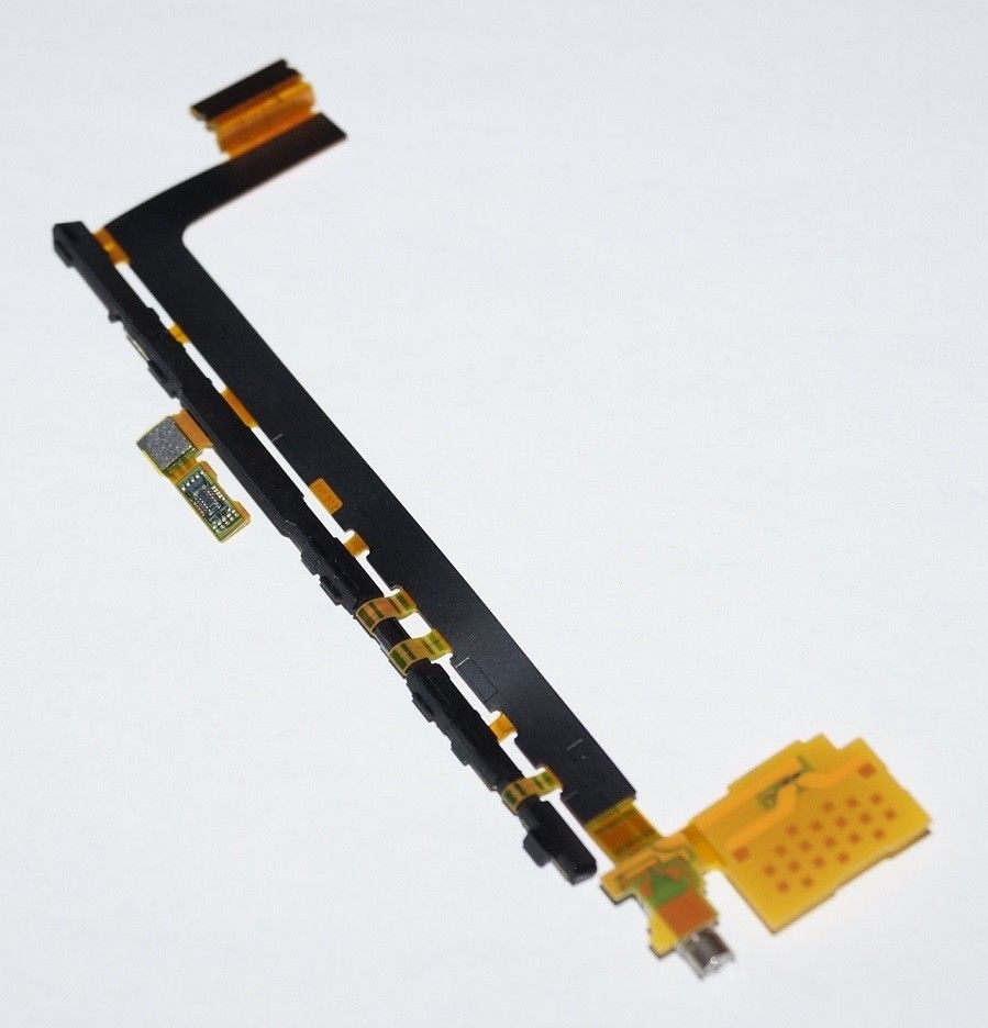 For <font><b>Sony</b></font> <font><b>Xperia</b></font> <font><b>Z5</b></font> Premium E6833 <font><b>E6853</b></font> E6883 Power On/Off Volume Flex Cable With Vibrating Motor Vibrator image