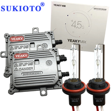 SUKIOTO Fast HID Kit Yeaky h1 H3 H7 HID Kit H11 5500K 45W YEAKY MIX 9005 9006 yeaky lighting hid conversion kit headlight