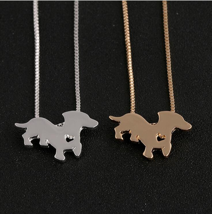 welsh corgi dog silver pendant necklace Loyal guardians animal terrier necklaces for women fashion jewelry animals lover gift