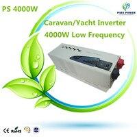 2016 DC24V 48V to AC110V 220V 230 240V Inverter Caravan Yacht Low Frequency Inverter 4000W
