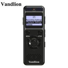 مسجل الصوت الرقمي من فندليون بذاكرة 8 جيجا بايت و16 جيجا بايت مسجل احترافي محمول MP3 للأعمال يدعم حتى 64 جيجا بطاقة TF V32