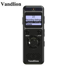 Vandlion Digital Audio Voice Recorder 8GB 16GB Professional Portable MP3 For Business Support Up to 64G TF Card V32