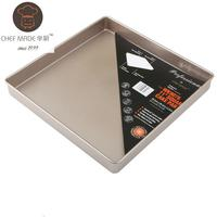 Chef Made 11inch Squarebakingpan Cake Non stick Easy Carton Steel Metal Cake Mould Mold Cake Tool Pizza Baking Pan Free
