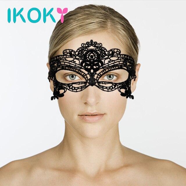 Кружевная повязка на глаза секс фетиш купить — pic 4