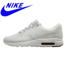 official photos e3ed9 fe8d7 Breathable Nike AIR MAX ZERO QS Men s and Women s Running Shoes White  Wear-resistant