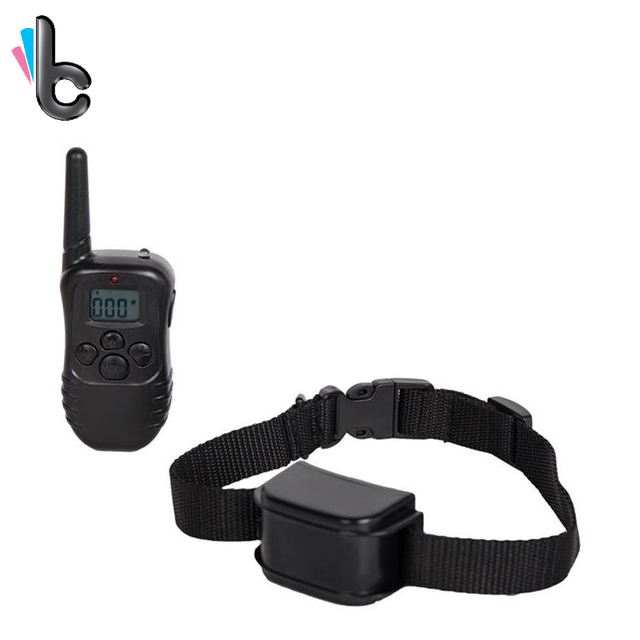 Remote Dog Cat Training Collar Rechargeable And Waterproof Vibration Shock 100 Levels Electric For 2