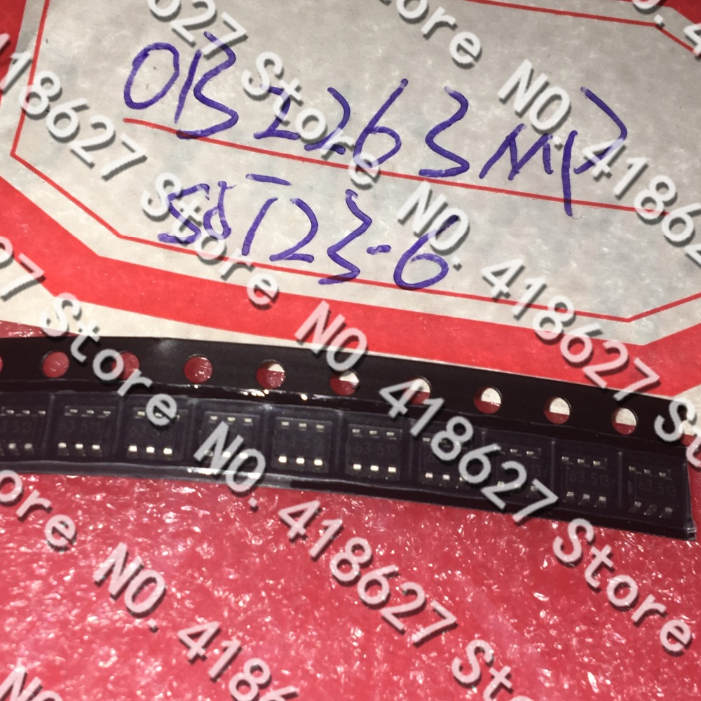 10PCS/LOT <font><b>OB2263MP</b></font> OB2263 Silkscreen 63 Power IC IC Integrated Chip SOT23-6 image
