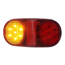 1 пара 12 В светодиодный задний светильник s тормозной светильник стоп-индикатор лампа с номерным знаком светильник для грузовика прицепа лодки Авто продукт