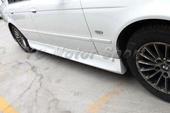 Akcesoria samochodowe FRP włókna szklanego VRS styl Side spódnica nadające się do 1997-2003 E39 serii 5 M5 boczne spódnice samochód stylizacji