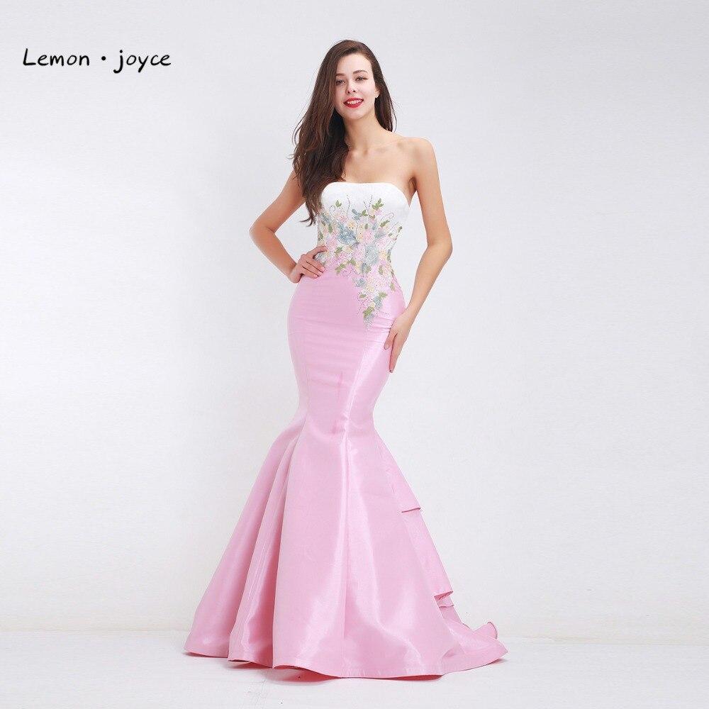 Elegant Prom Dress Long 2018 Sexy Two Piece Mermaid Evening Dress O ...