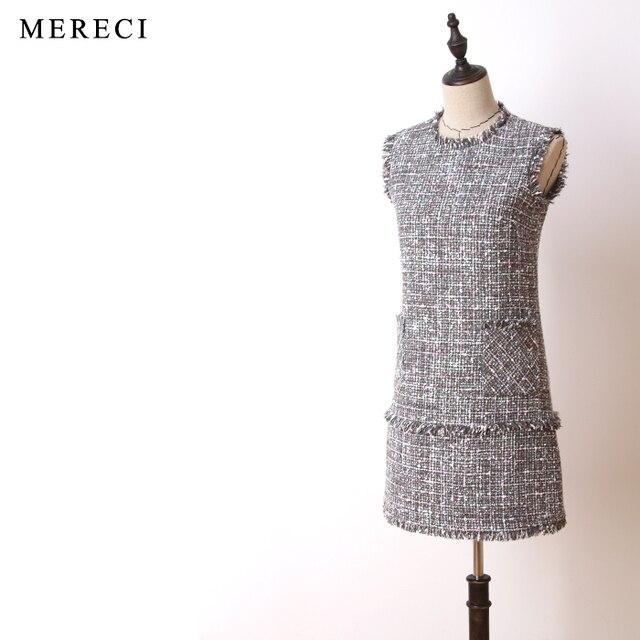 2017 runway designer hohe qualität elegante formale purebliss tweed ...