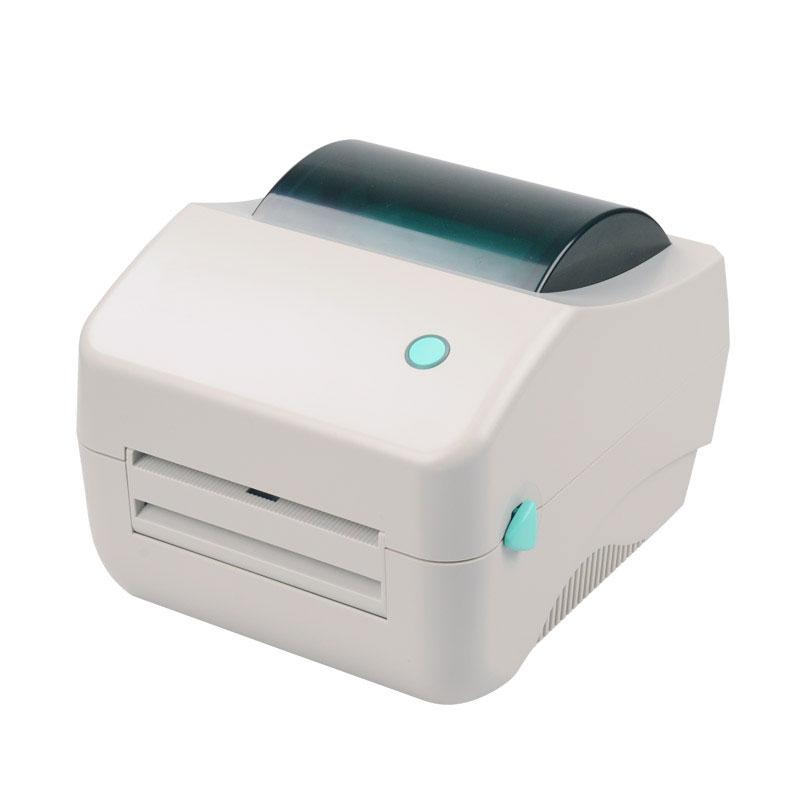 Haute qualité Gratuite imprimante D'étiquettes étiquette code à barres Thermique imprimante pas besoin carbone ceinture ruban imprimante