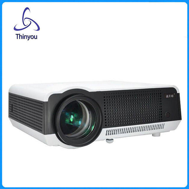 Thinyou Full HD LED Multimedia Meeting Business Office School Home Cinema 1280x800 1080P LED Projector Smart Proyector beamer