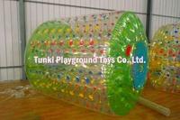 inflatable water roller for kids, inflatable aqua roller