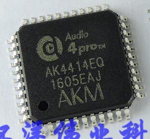 4PCS/LOT AK4414EQ AK4414 LQFP48 10pcs lot sc16c752bib lqfp48 original electronics ic kit