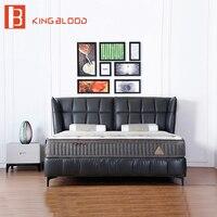 Королевский стиль мебели king size роскошная кровать кадр для мебели для спальни