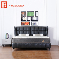 Royal furniture style king size bedding luxury bed frame for bedroom furniture