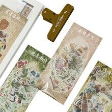 60pcs/lot New a past event series Decorative Scrapbooking Stickers DIY Diary Album Sticker Label
